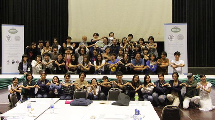 タイ・シラパコーン大学でのワークショップ及び学生作品相互上映会