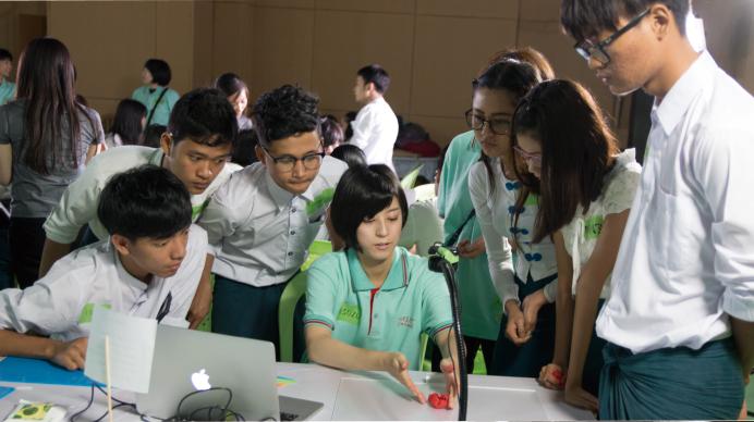 ミャンマーでアニメーションワークショップを開催!c
