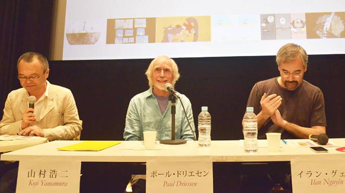 コンテンポラリーアニメーション入門第25回講座:ポール・ドリエセン『線のメタファーとマルチ画面』開催!