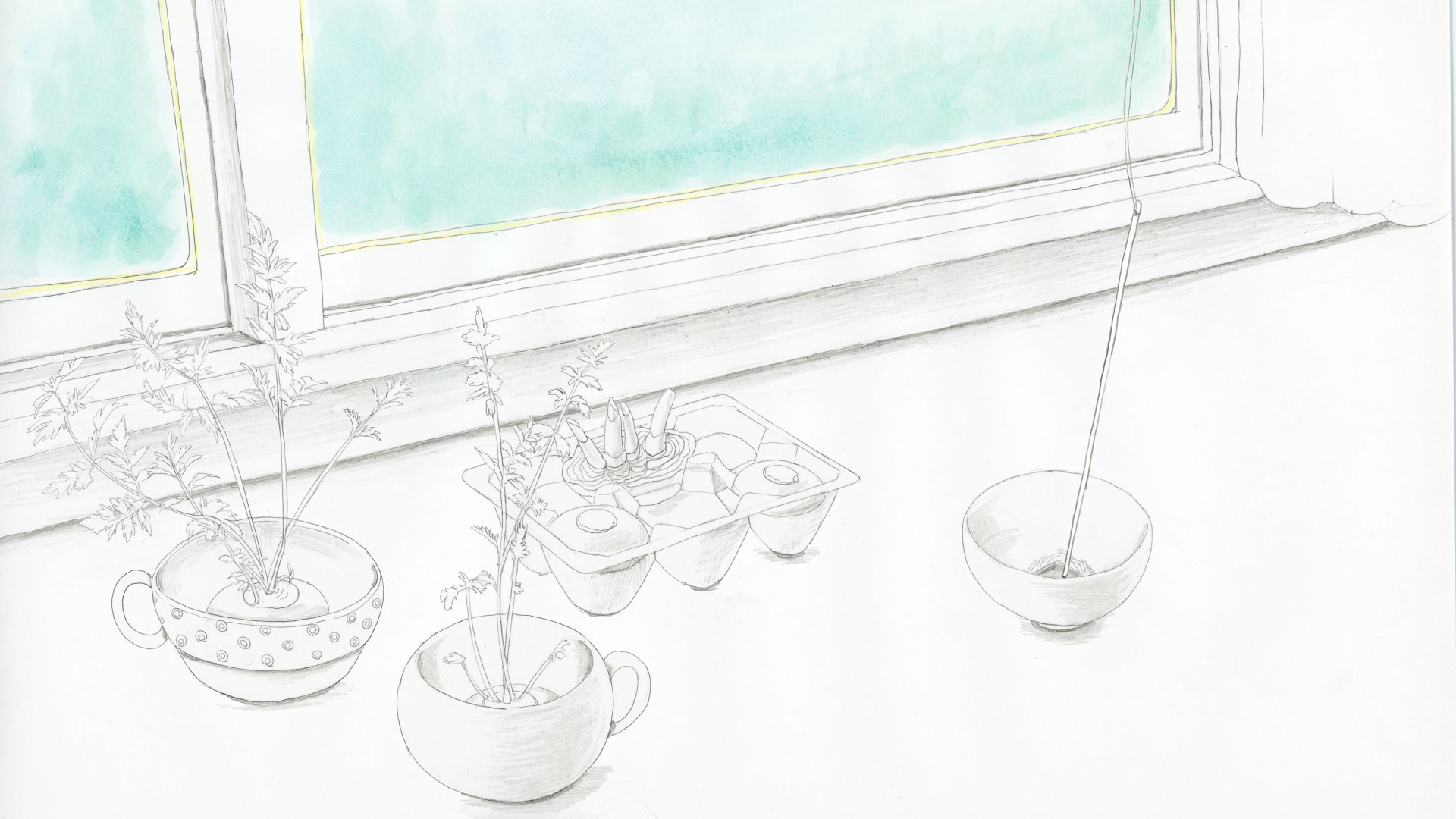 過去作品公開:「微睡みの終末」/ 梁 佳緒里