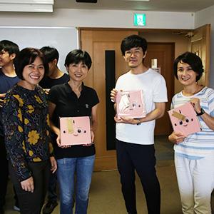 タイのシラパコーン大学から視察団来訪