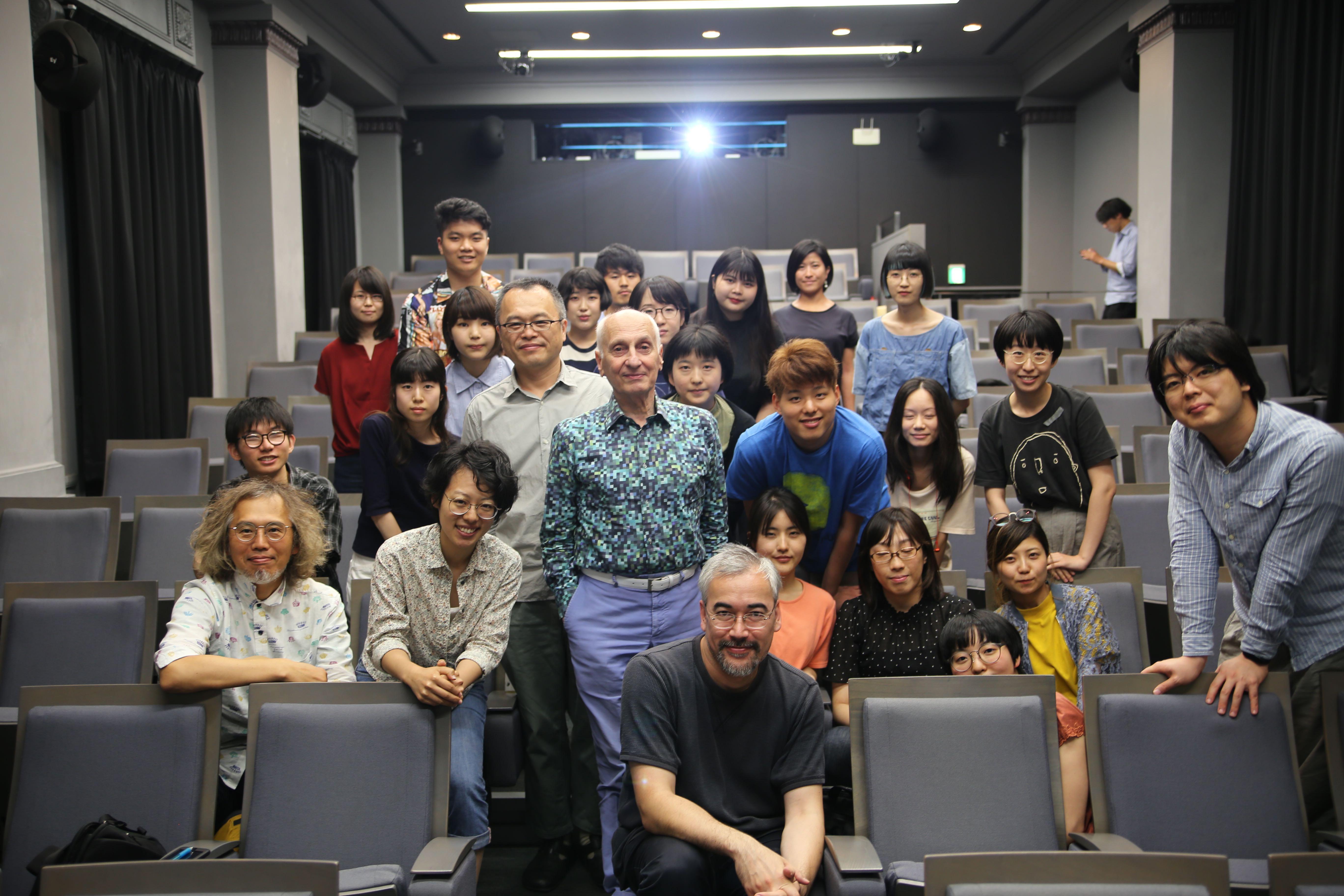 ミッシェル・オスロ監督の特別講義が開催!